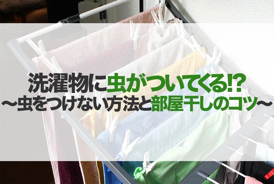 虫除け ネット 物 洗濯