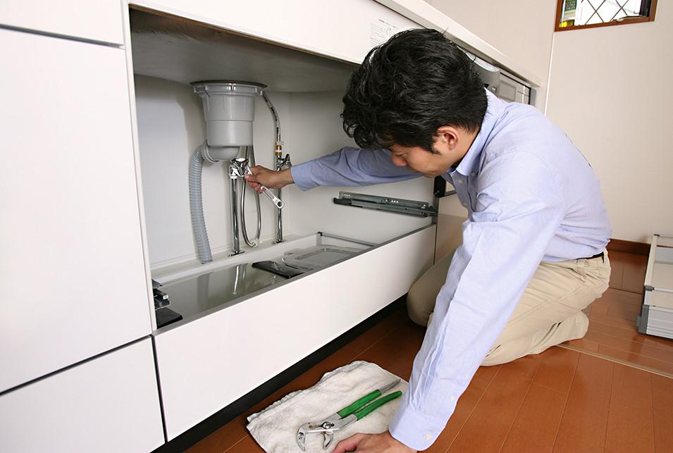 排水 掃除 キッチン 溝