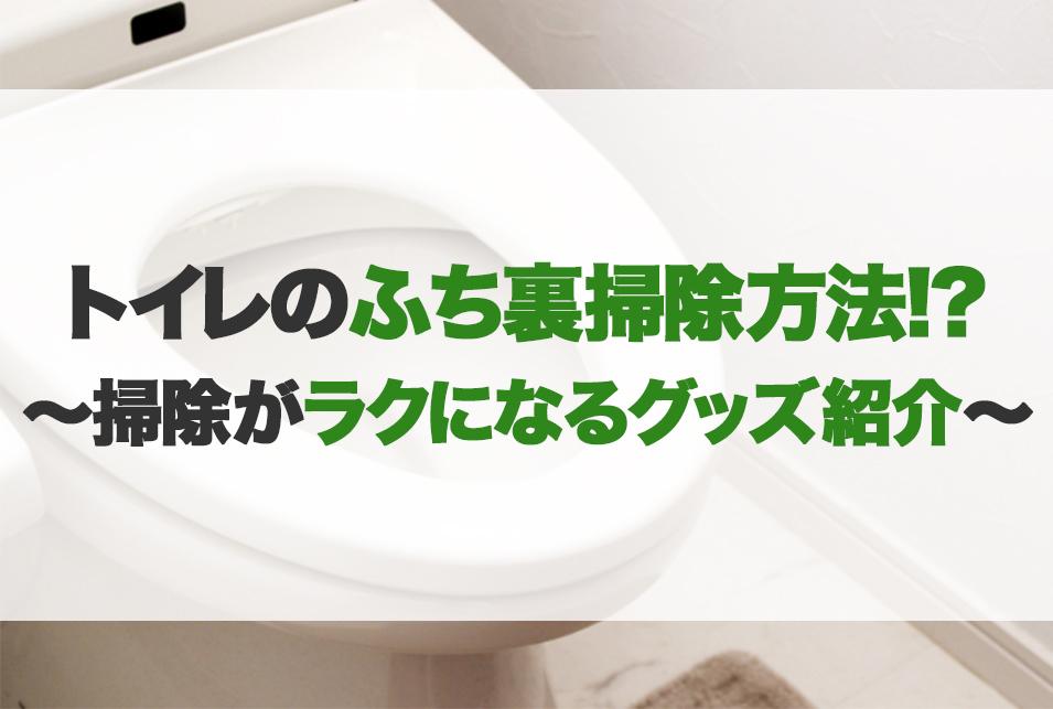 ふち トイレ 黒ずみ の 裏