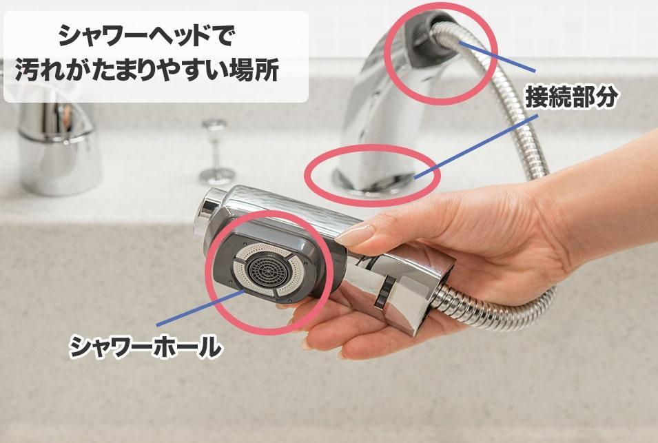 シャワー ヘッド 掃除
