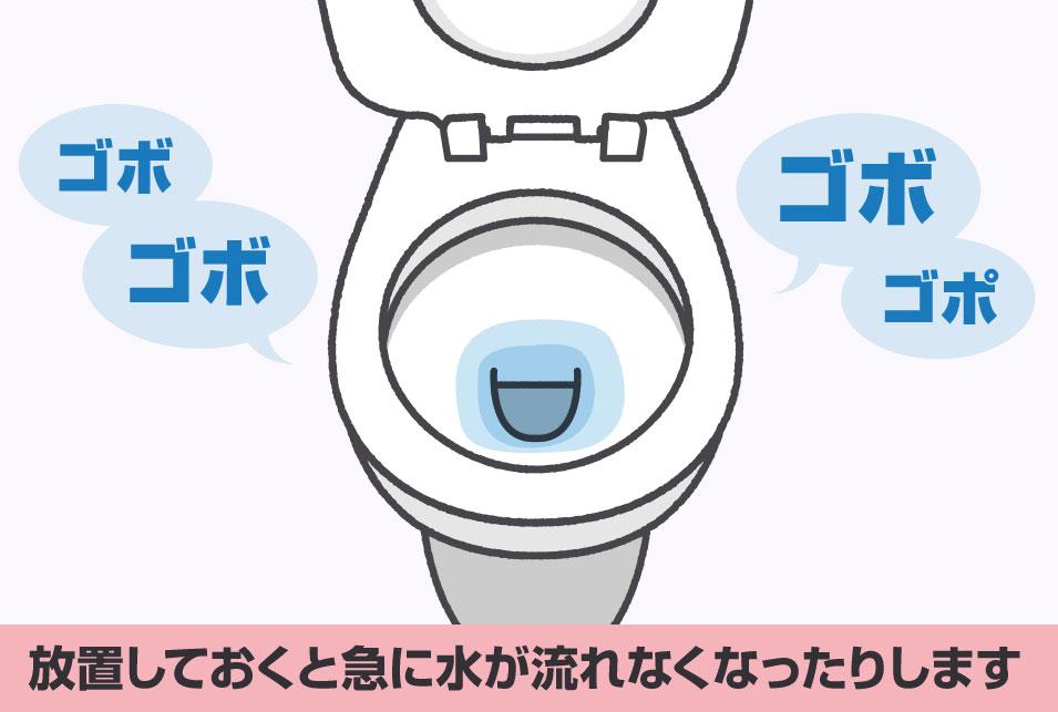 トイレつまり自然に治る